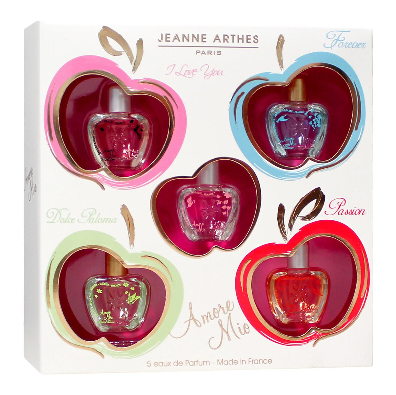 Jeanne Arthes Amore Mio Gift Set (Mini 7ml x O/Fore/I Lov/Passion/WP)