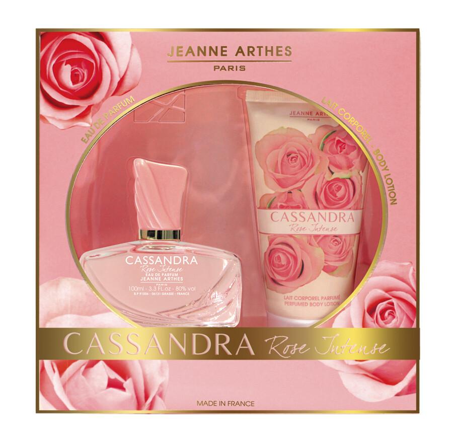 Jeanne Arthes Cassandra Rose Gift Set (Eau de Parfum 100ml  +  Body Lotion 150ml)