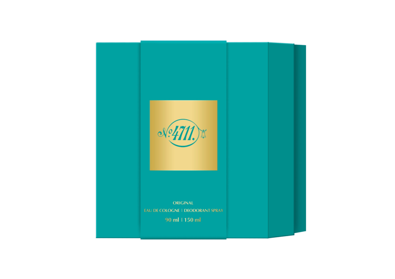 4711 Duo Set (Eau de Cologne 90ml  +  Deodorant Spray 150ml)