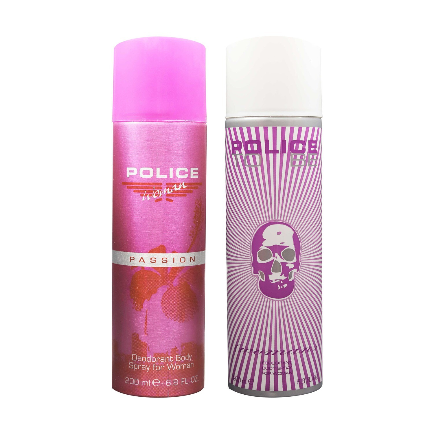 Police Passion + To Be Women Deodorant Spray - For Women 400ml