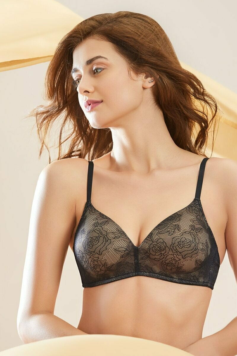 Amante Padded, Encased Wire, Full Cover Bra