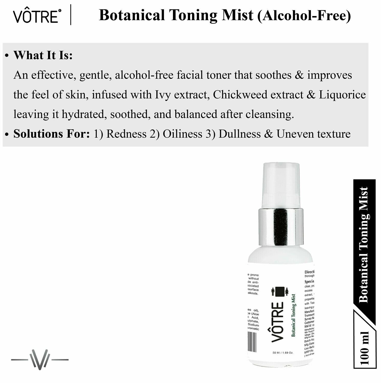 """Votre Botanical Toning Mist """"Mini"""""""