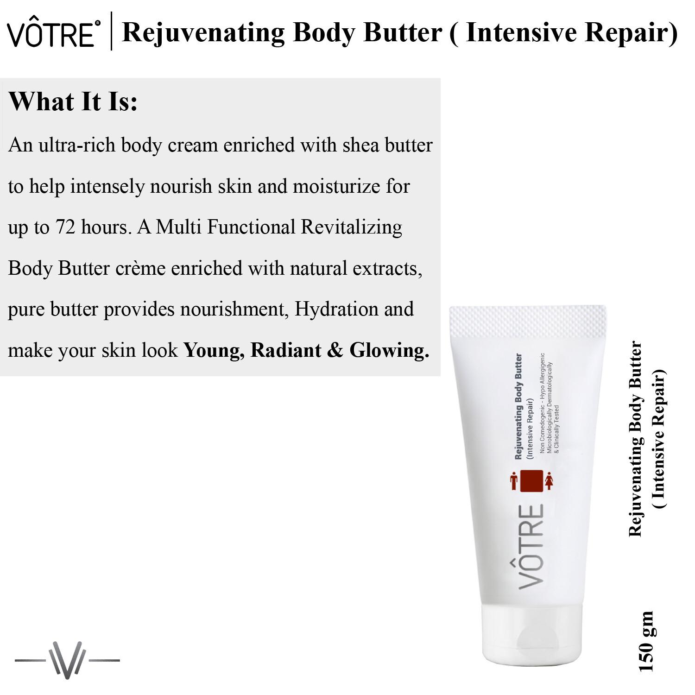 Votre Rejuvenating Body Butter (intensive repair)
