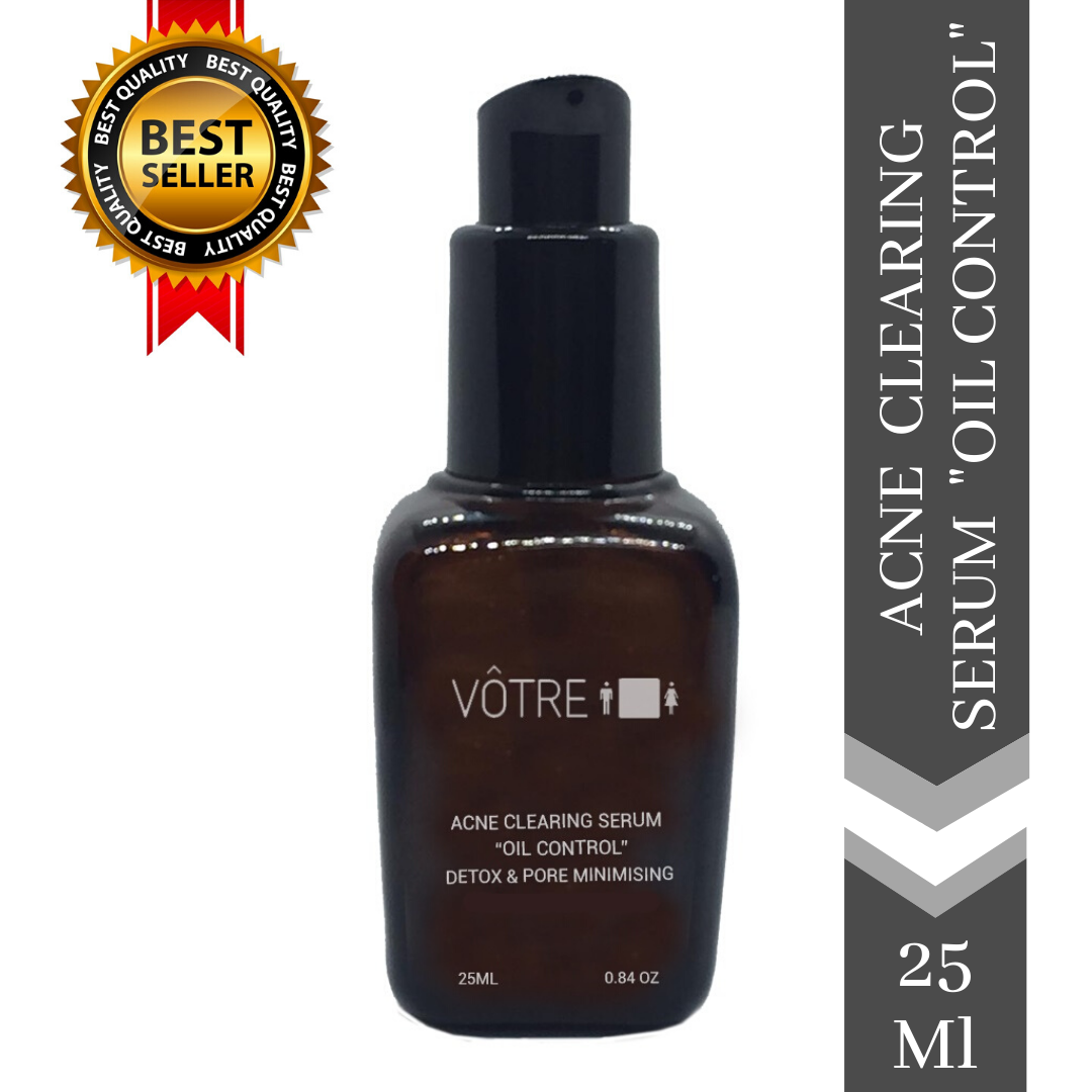 "Votre Acne Clearing Serum ""Oil Control"" Detox & Pore Minimising, Enriched with Pro Biotics"