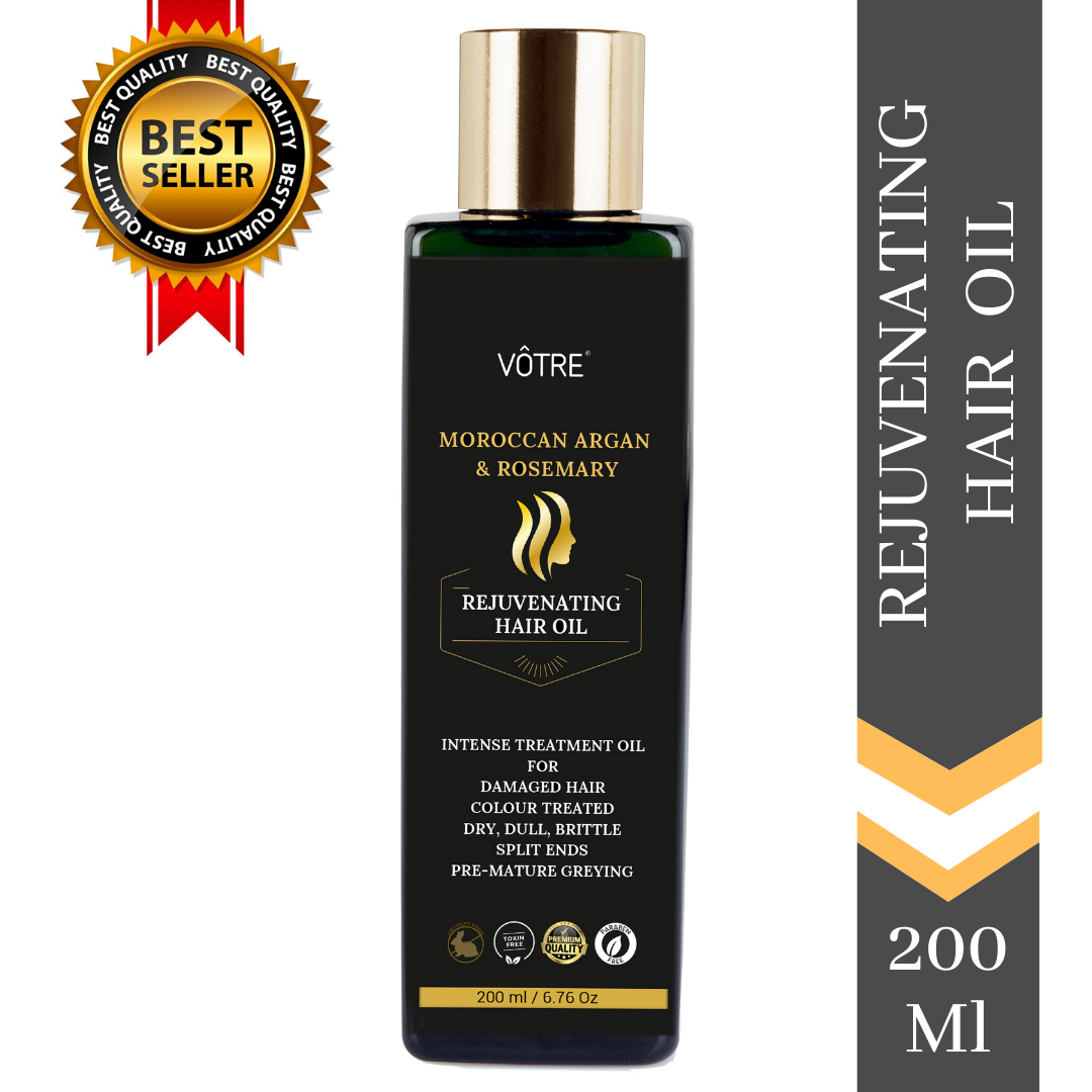 "VÔTRE Rejuvenating Hair oil "" with rosemary & argan oil"""