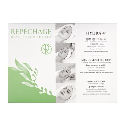 Hydra 4 Red-Out® Facial With Micro Silver and Anti-Oxidants