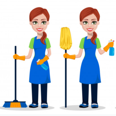2 Cleaners (at a time)