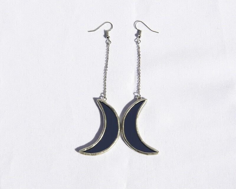 Mirror Moon Earrings