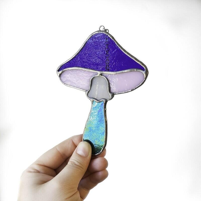 Blue Mushroom