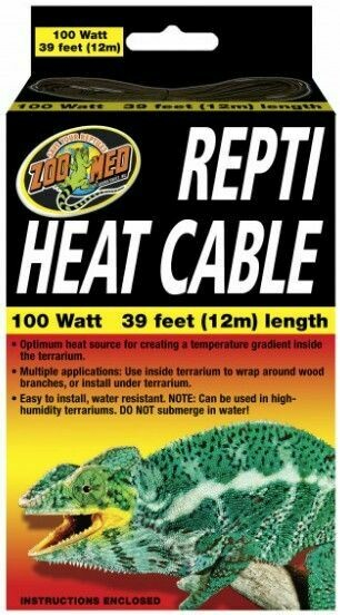 Zoo Med Repti Heat Cable 39'