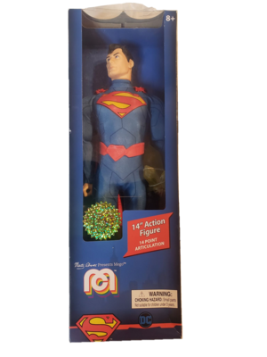 DC Mego Limited Edition New 52 Superman 14 Inch Figure