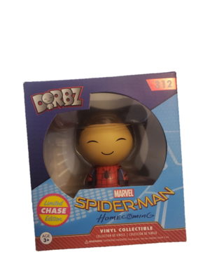 Dorbz Spiderman Homecoming Peter Parker Unmasked #312 Vinyl Figure - Chase