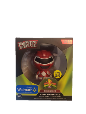 Funko Dorbz Power Ranger Red Ranger GITD #253 Vinyl Figure - Walmart Exclusive