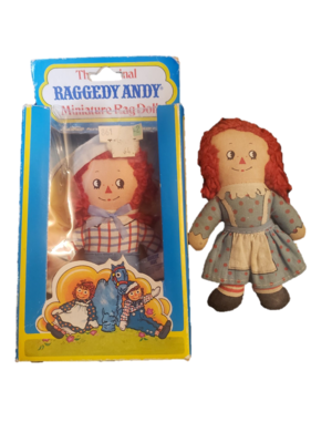 1976 Knickerbocker Raggedy Ann And Andy Plush Figures