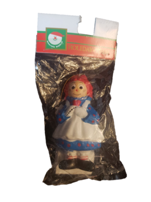 Kurt S Adler Santa's World Raggedy Ann Holiday Ornament