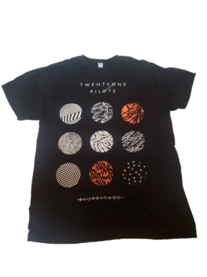 Twenty One Pilots Blurryface T Shirt Size Large