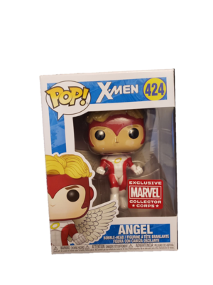 Funko Pop Collector Corp Exclusive X-Men Angel #424