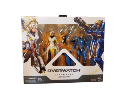 Hasbro Overwatch Ultimates Mercy And Pharah 6 Inch Set