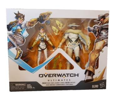 Hasbro Overwatch Ultimates Tracer And McCree 6 Inch Set