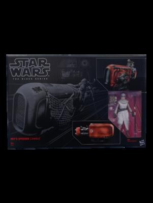 Star Wars The Black Series Rey's Speeder and Figure