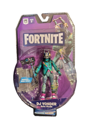 Fortnite Solo Mode Core Figure Pack DJ Yonder