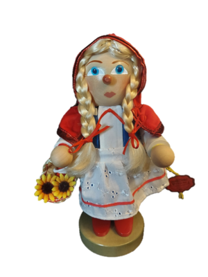 Steinbach Little Red Riding Hood Nutcracker 10.5-Inch