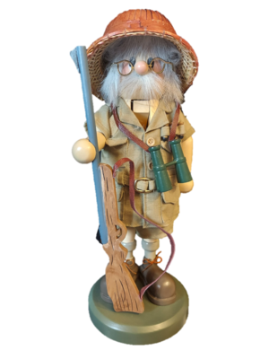 Limited Edition Zim's Heirloom Collectibles The Hunter Nutcracker