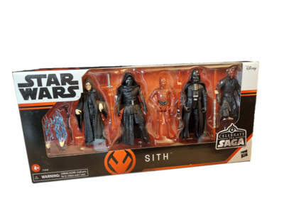 Star Wars Celebrate The Saga Sith Figure 5-Pack 3.75