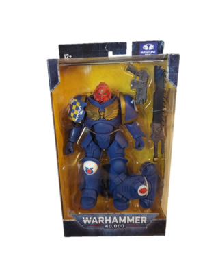 McFarlane Toys Warhammer 40k Ultramarines Primaris Assault Intercessor 7