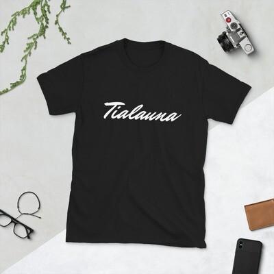 White Cursive Tialauna Shirt