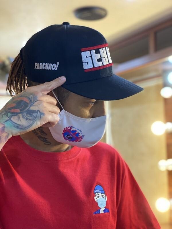 STYLISH PARCHAO x Cali's apparel NYC Black Snap back