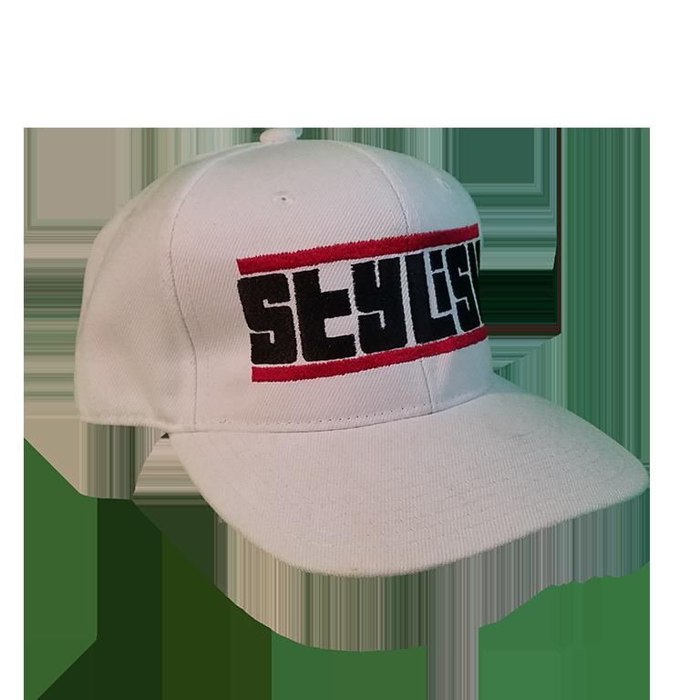 White STYLISH Cali's apparel Snapback