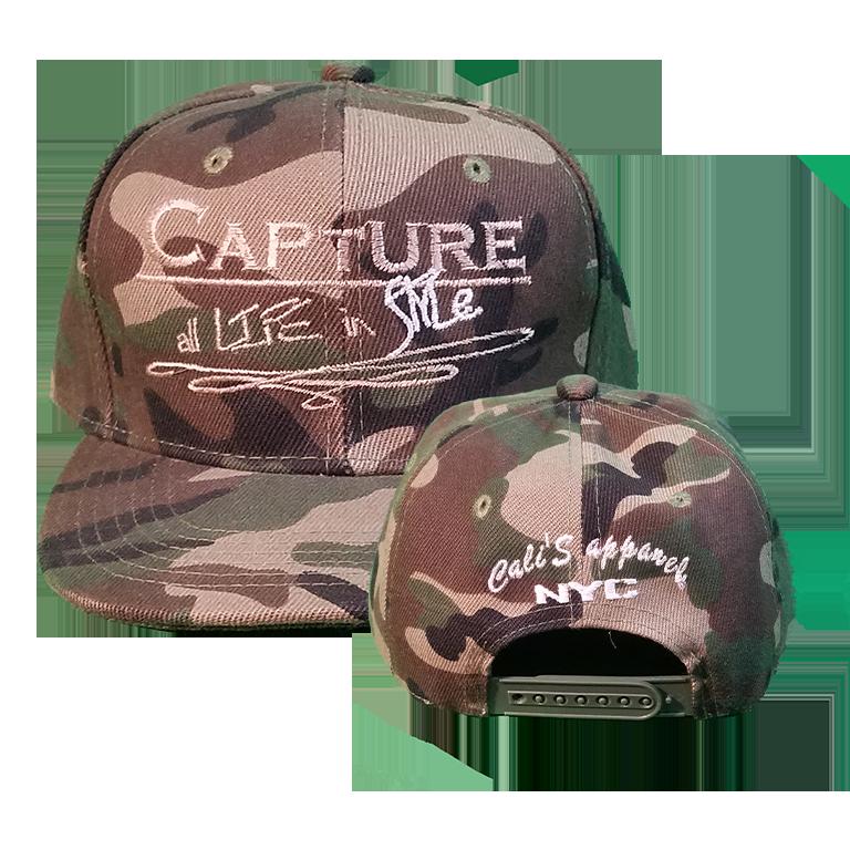 Cali's apparel Signature Unisex Camouflage Snapback