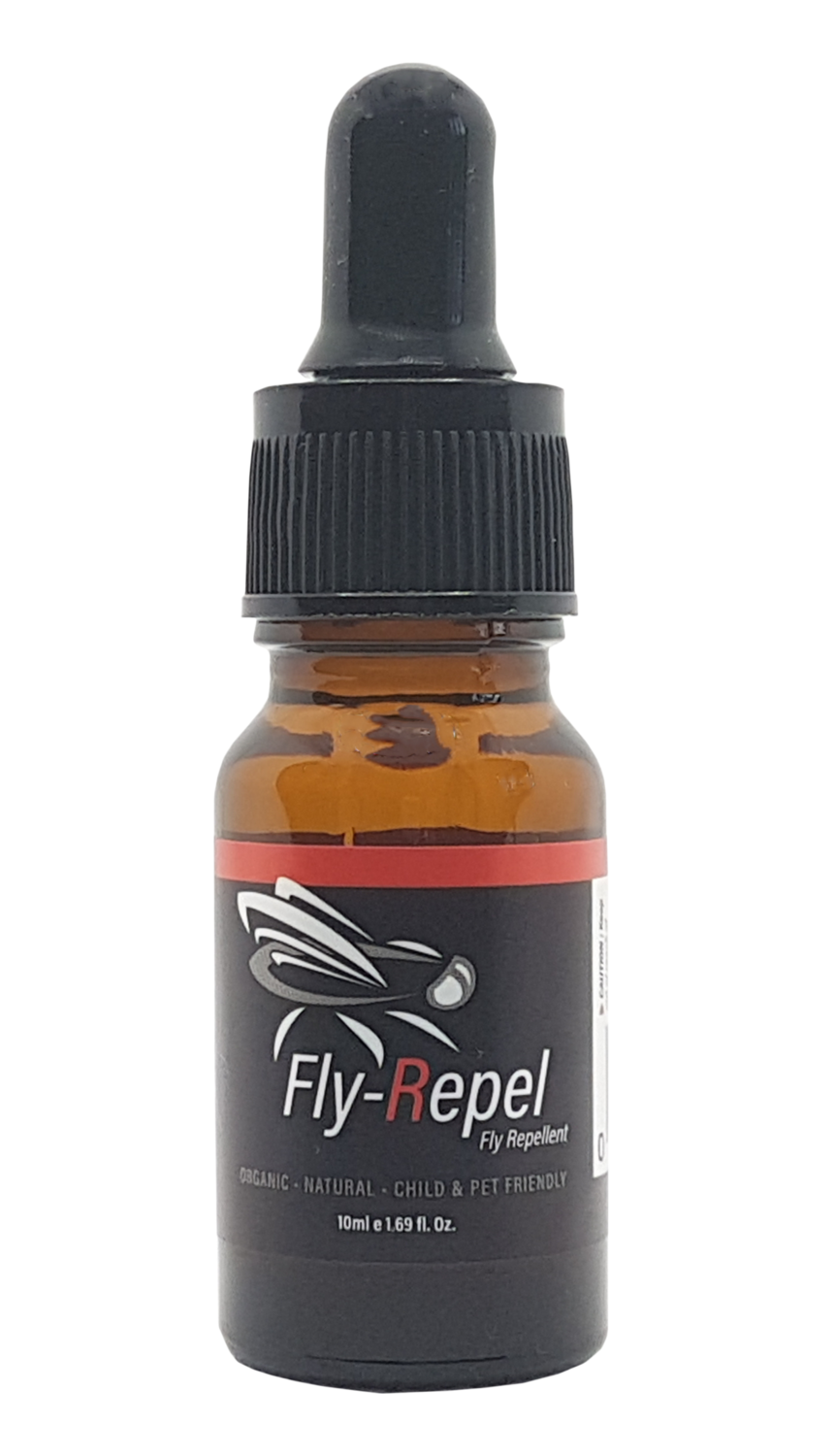 Fly-Repel Fly Repellent - 10ml Pure Essential Oil Blend