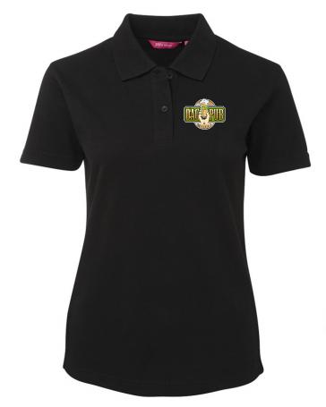 Ladies Polo Shirt Black