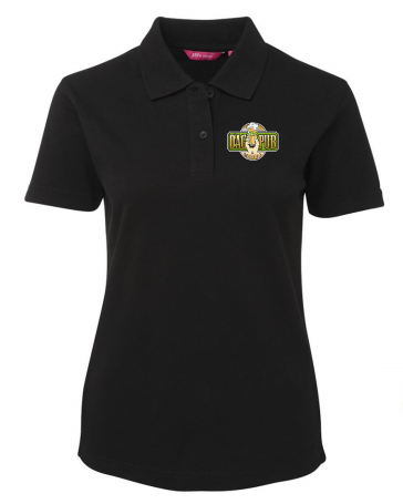 Ladies Polo Shirt Black