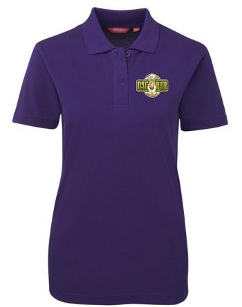 Ladies Polo Shirt Purple