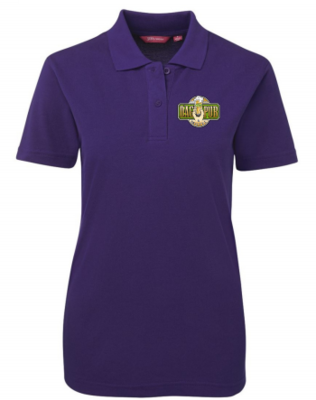 Ladies Polo Shirt Purple