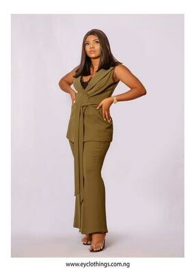 Army Green Two Piece