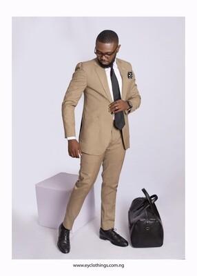 Bespoke Carton Colored Suit