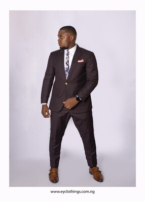 Dark Chocolate Colored One bottom Suit