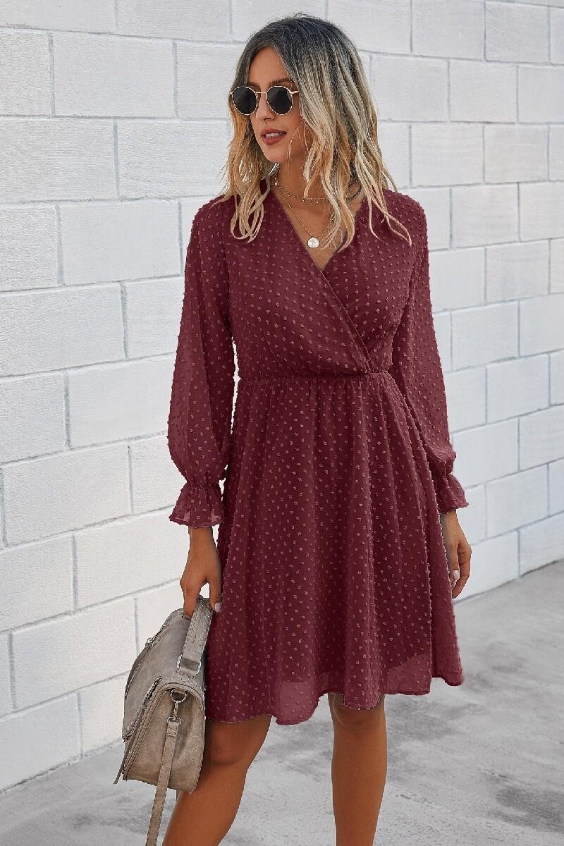 Swedish Dot L/S Dress