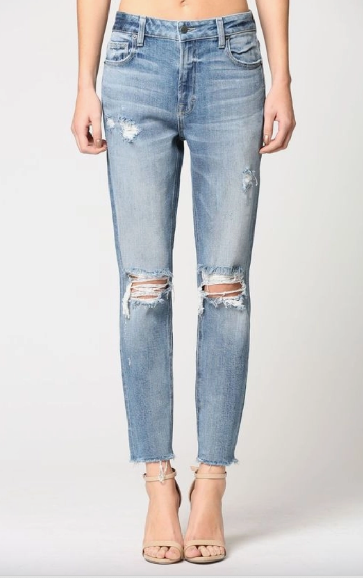 Zoey Mom Jeans
