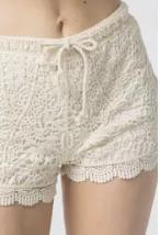 Kiki Crochet Shorts