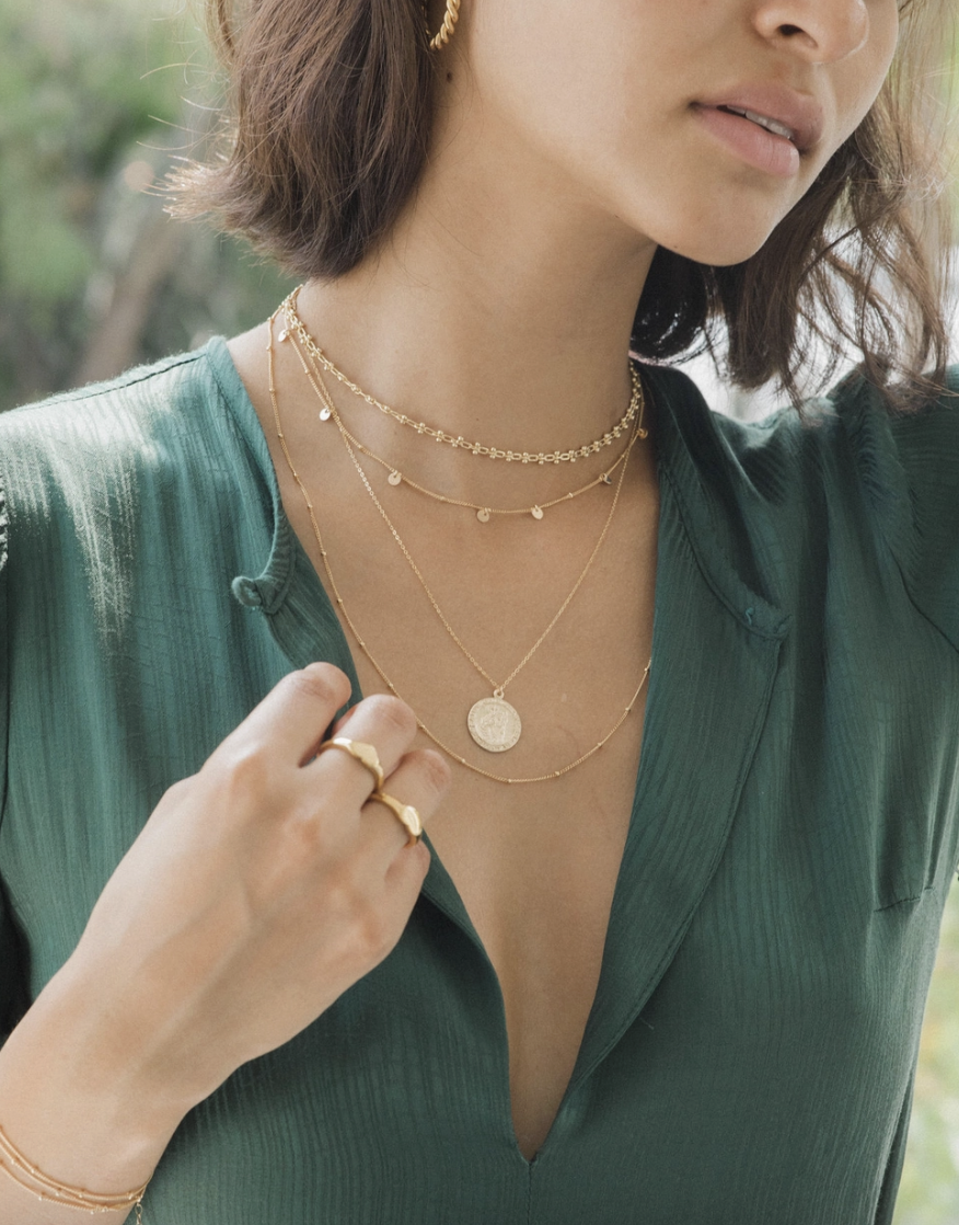 GF Dotted Necklace