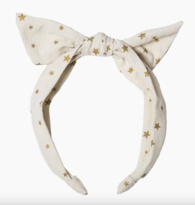 Scattered Star Tie Headband