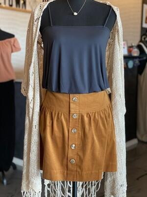 Addie Corduroy Skirt