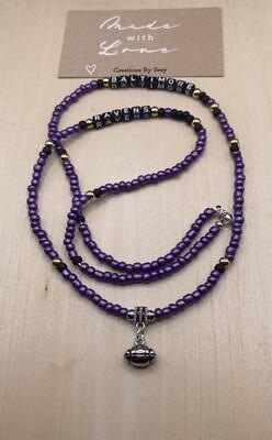 Seay Baltimore Ravens Necklace