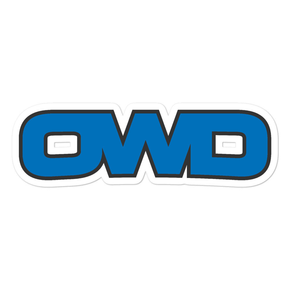 OWD Bubble-Free Stickers