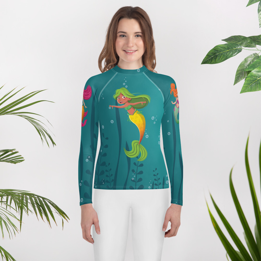 MERMAID Youth Rash Guard
